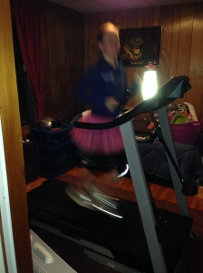 My brother's old room = the treadmill room.