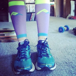 Today's color scheme makes me believe spring is near  #keepittight @procompression #instarunner