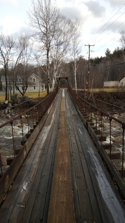 I always walk across this bridge in fear of falling off. Always.