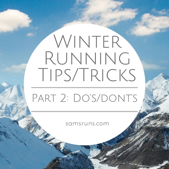 Winter Running Tips-Tricks 2