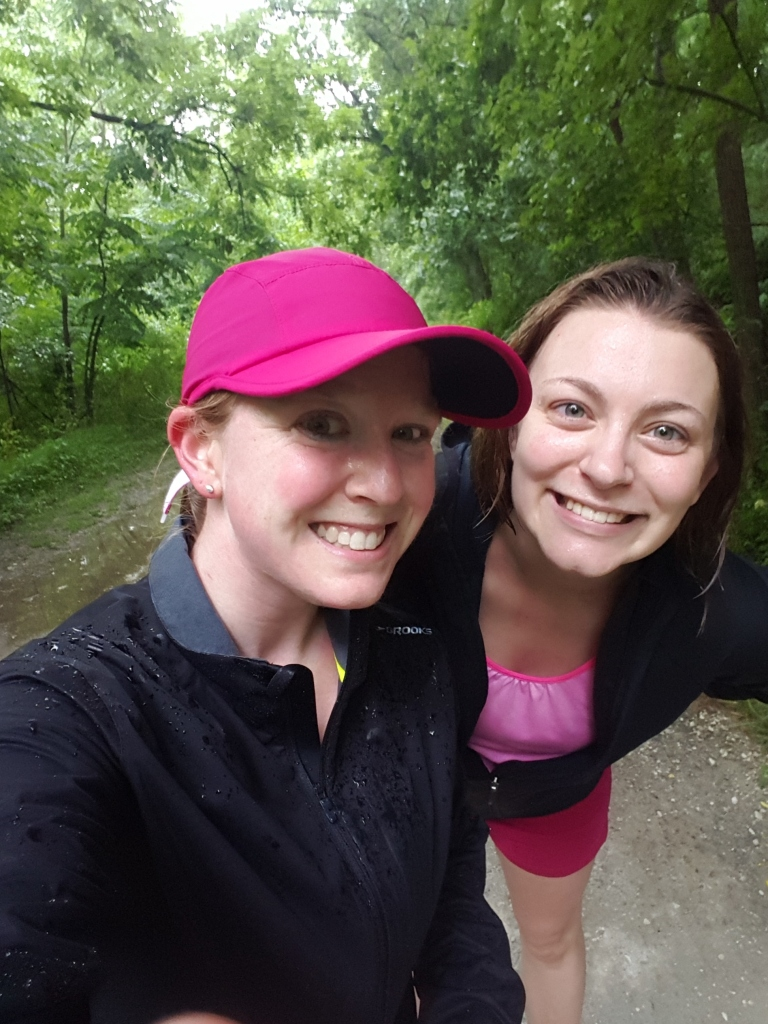 Rain running buddies.